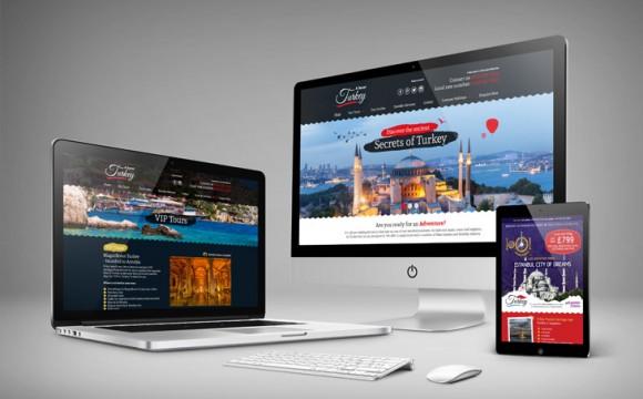 Secret Turkey Responsive Website Design