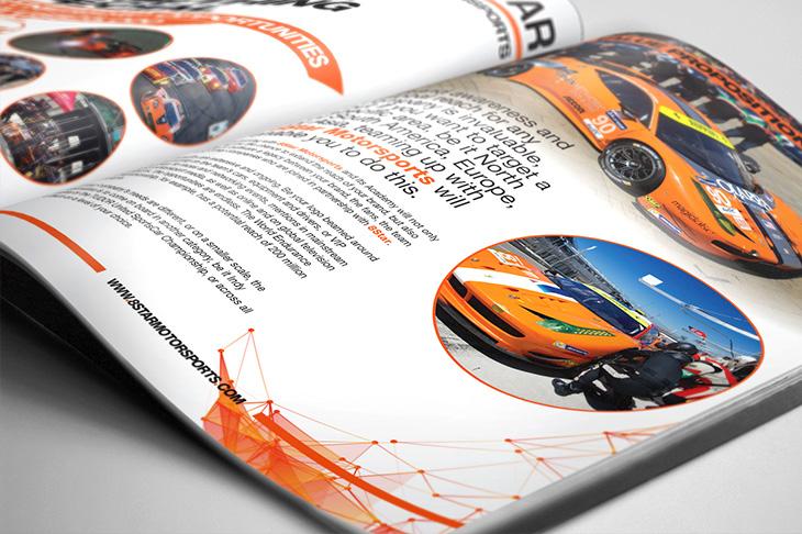 8Star Racing Brochure Design
