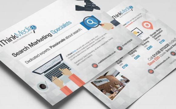 iThink Media Promotional flyer design