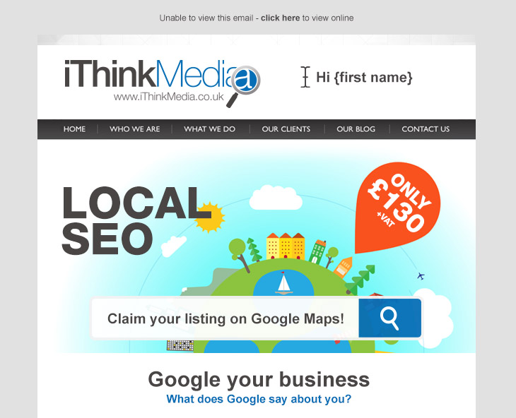 iThinkMedia Responsive Email Design