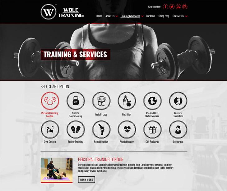 WoleTraining Responsive Website Design