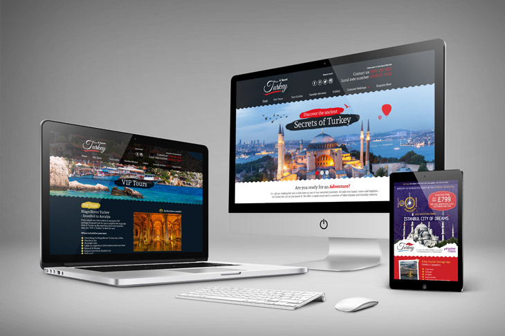 Secret Turkey Responsive Website Design