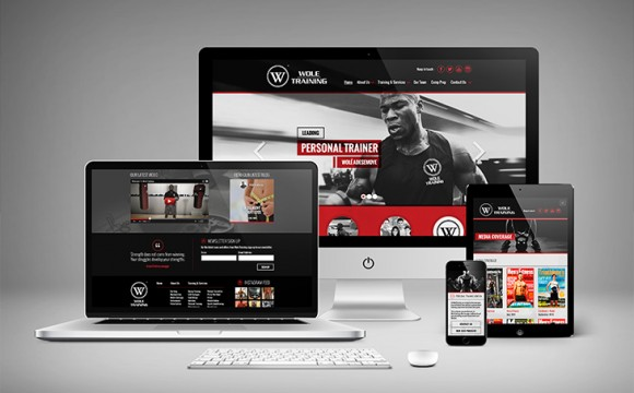 WoleTraining Website Design