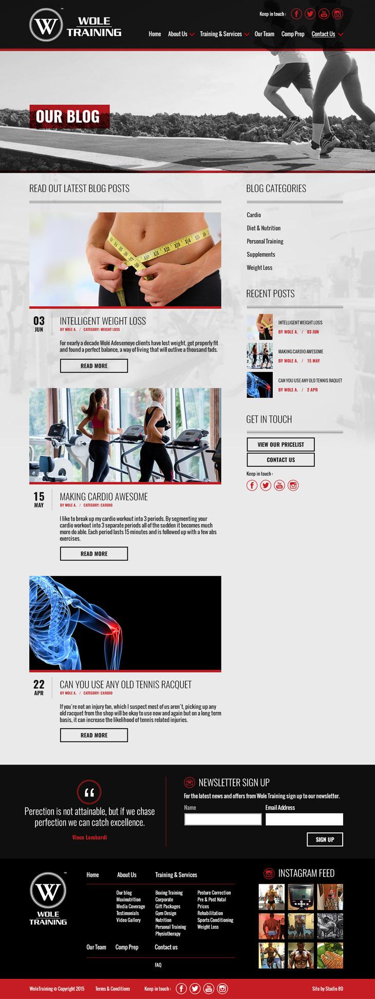 WoleTraining Responsive Web Design